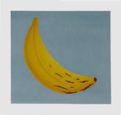 painting of banana